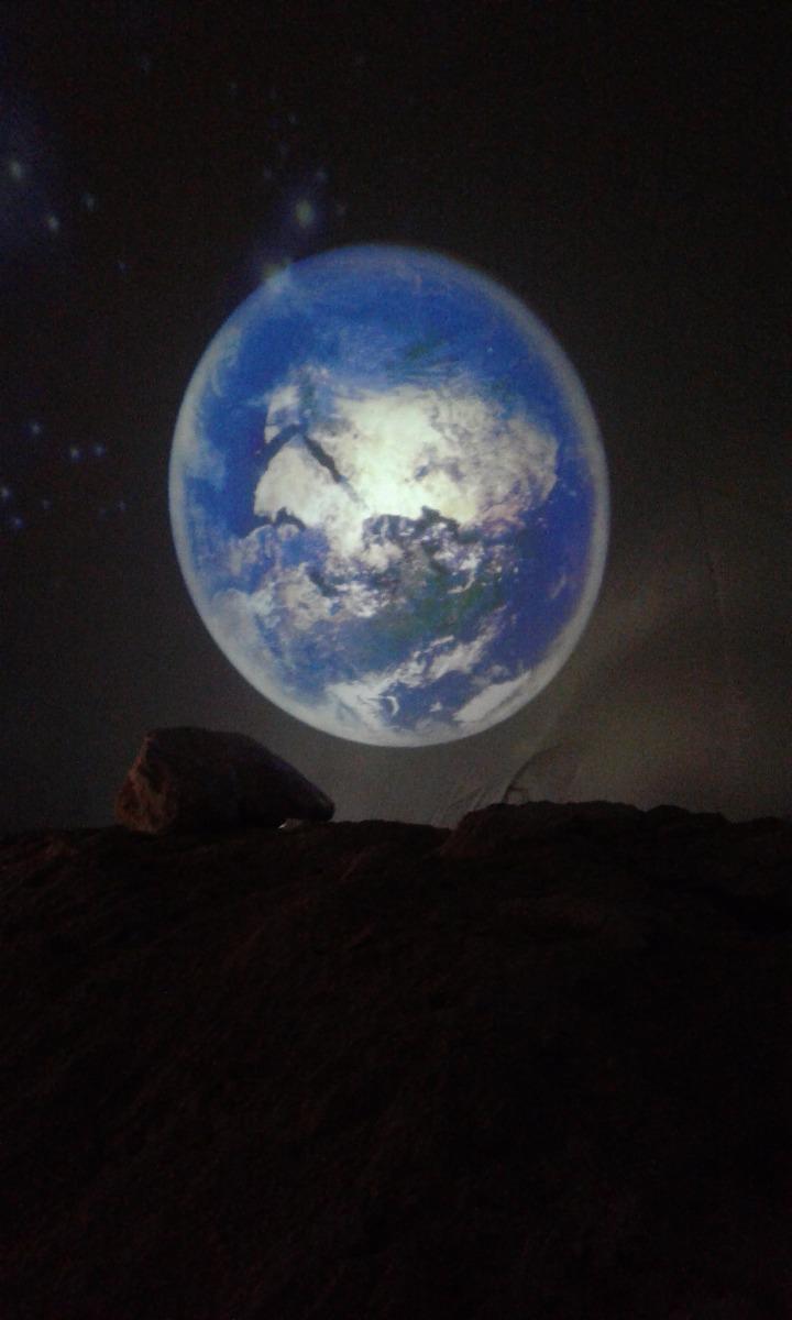 Vue depuis la Lune… Pas mal, non? (en attendant les photos officielles!) Essais Lunaires, Kadjar Quest, Renault. Tignes